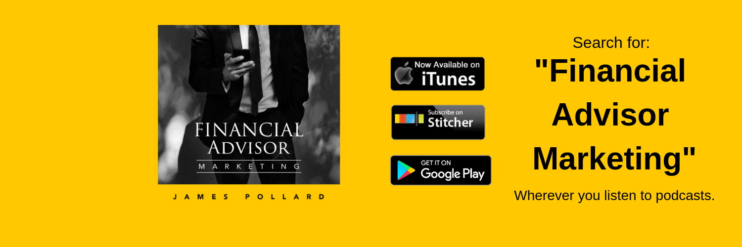 My podcast - as a financial advisor coach myself, I share insights related to financial advisors in my podcast