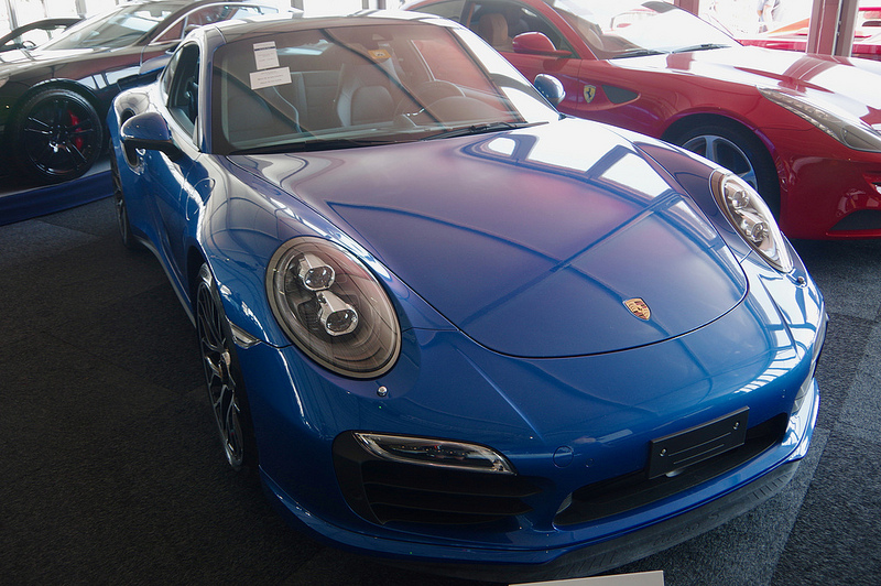 Blue Porsche - a day in the life of a financial advisor includes telling clients what they can and can't afford