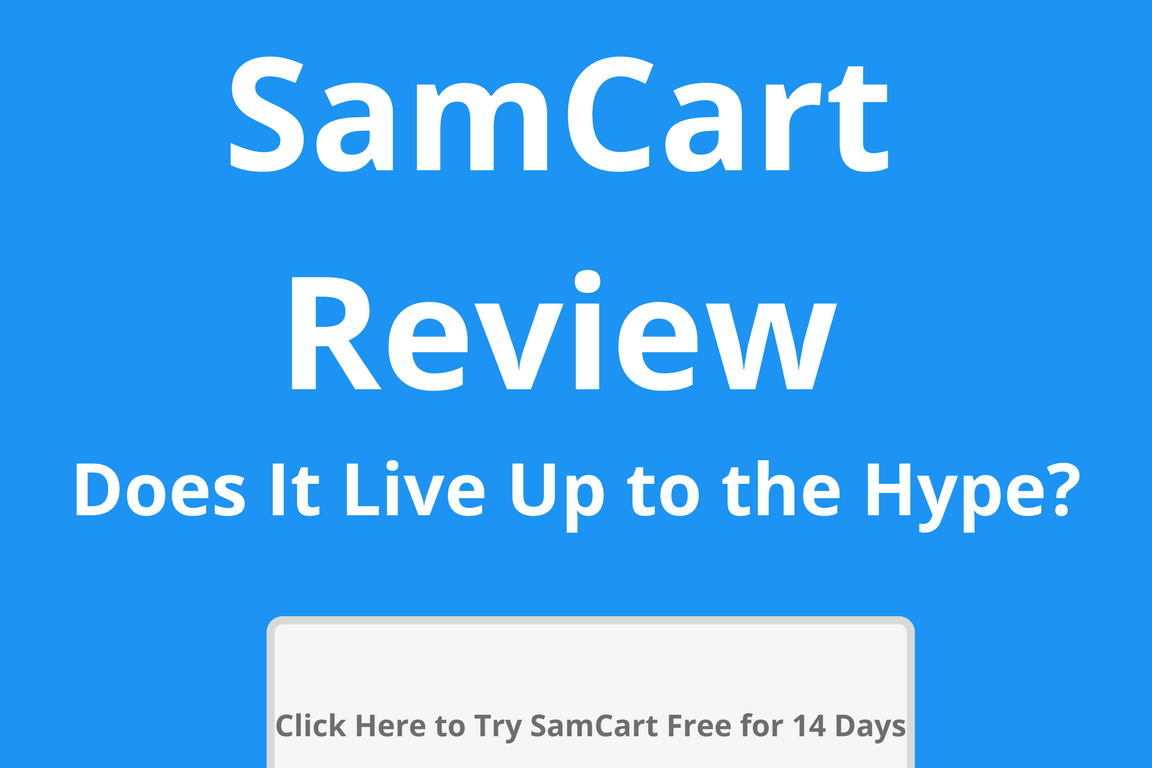 Second Hand Cheap Samcart  Landing Page Software