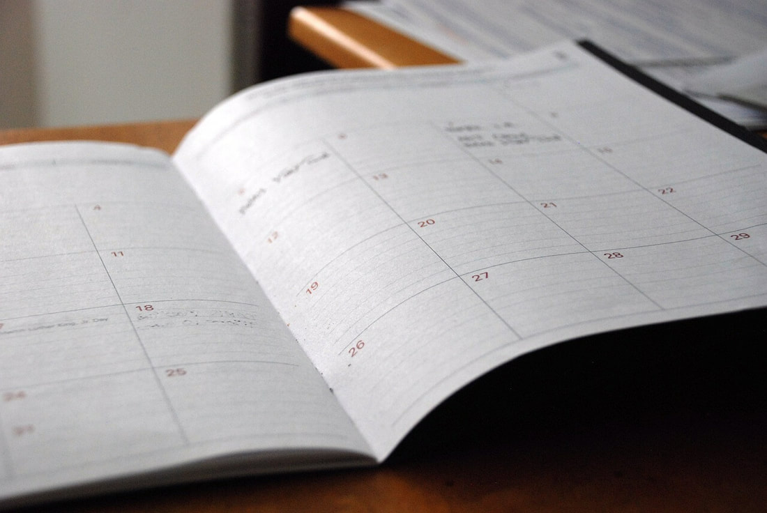 An empty schedule because one of the pros of being a financial advisor is having a flexible schedule