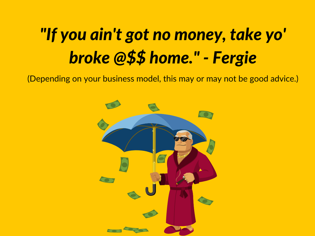 Quote from Fergie about how financial advisors can overcome objections